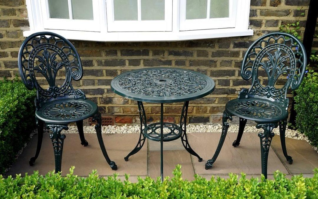 Aluminium Garden Furniture From The, Cast Aluminium Garden Seat