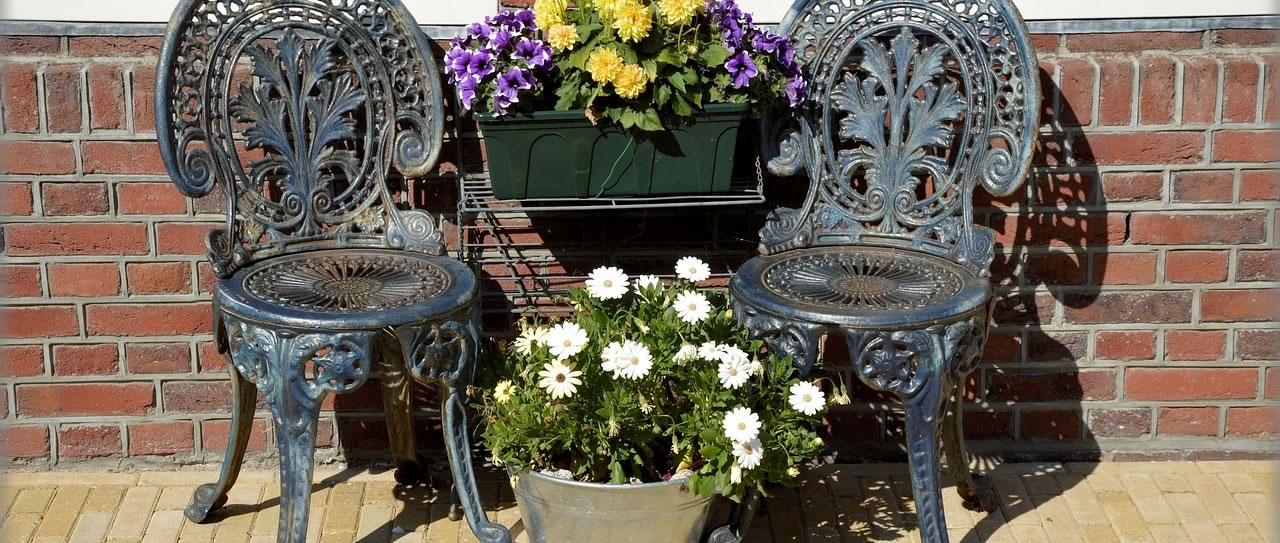 Wrought-Iron Garden Furniture