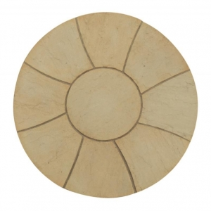 1.5m Abbey Twist Circle York Gold