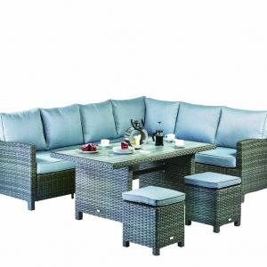 Athena corner modular dining set