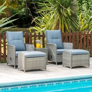 Milan Deluxe lounger set