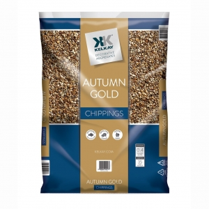 Autumn gold chippings