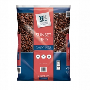 sunset red Chippings