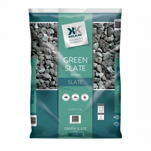 Green slate chippings