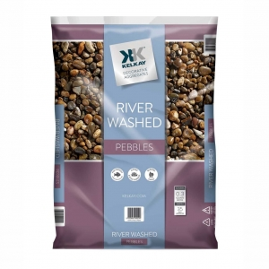 River washed pebbles
