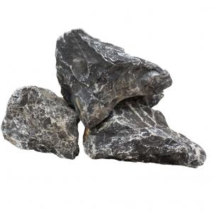Black mountain rock