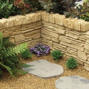 Daleside walling Blocks in York Gold