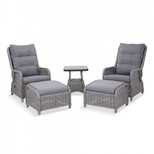 Salzburg 5 Piece Recliner Set