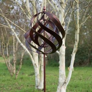 Saturn Copper Wind Sculptures