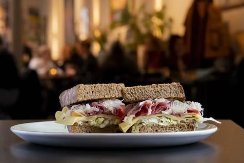 Hilltop Cafe - Sandwiches