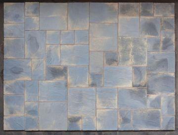 10.22m sq Abbey Paving Patio Kit Antique
