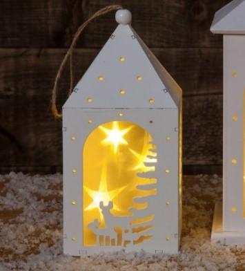 Christmas Scene Lantern