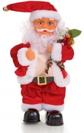 Red Santa Figures