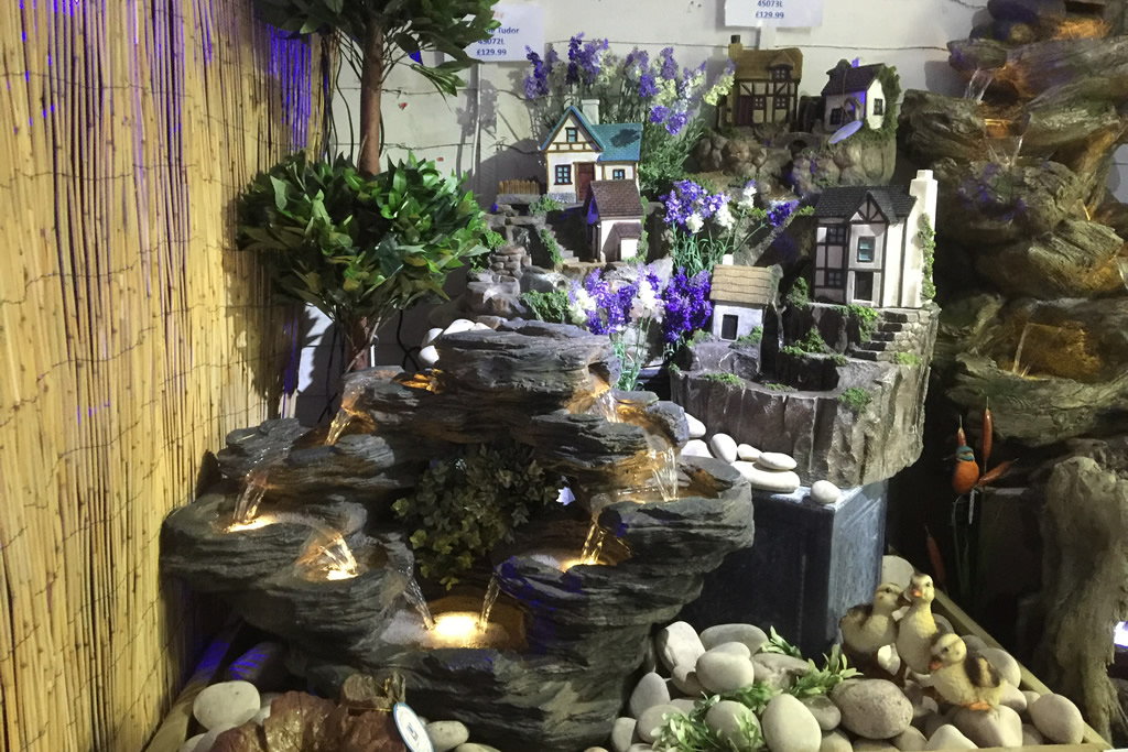 Improve your garden by adding a water feature