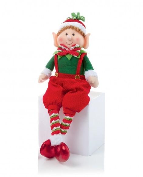 Sitting Elf Figures