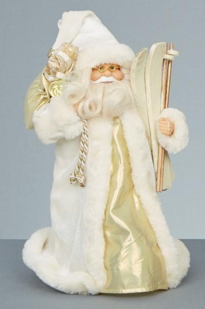 White Santa Figures